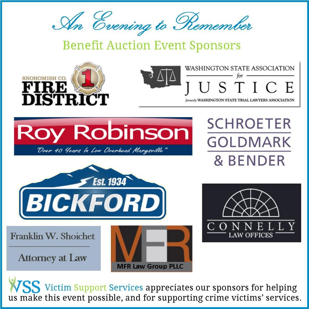 2013 Auction Sponsors 10.31