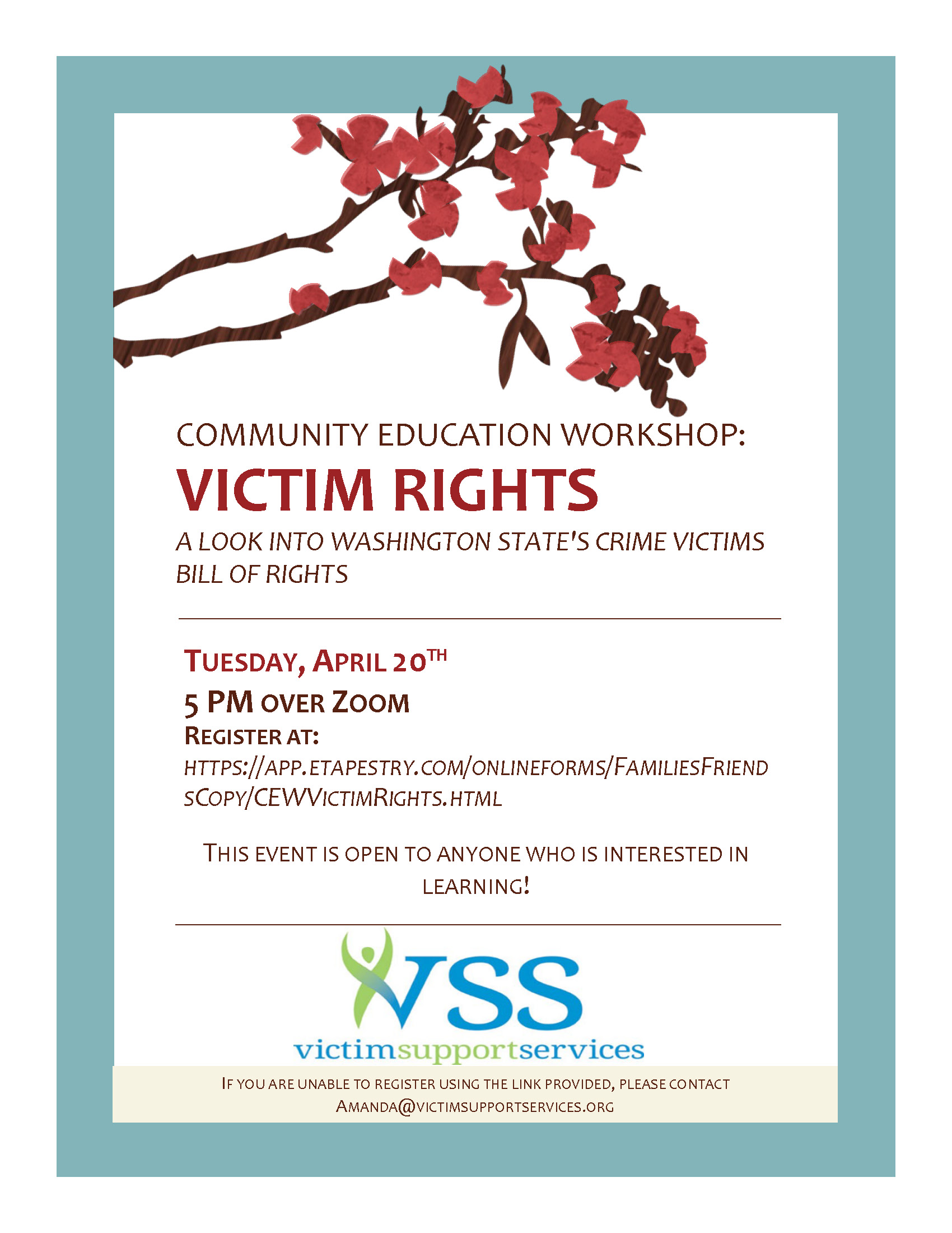 Victm Rights Presentation Flyer